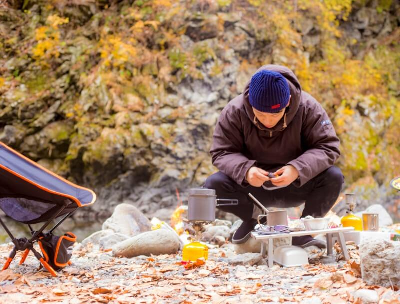 秋のいーまキャンプ