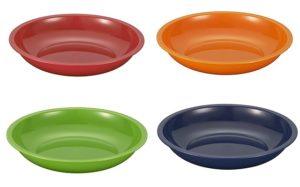 ノルディックカラーの皿