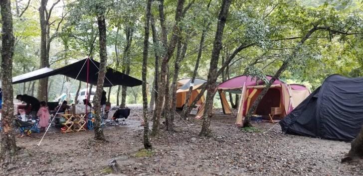 ウェルキャンプ西丹沢でグループキャンプ