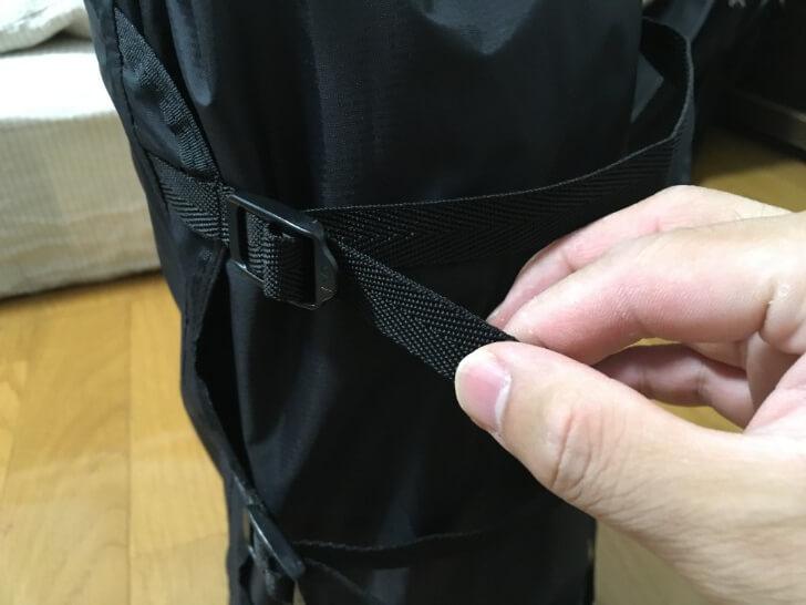オクトス コンプレッションバッグの紐