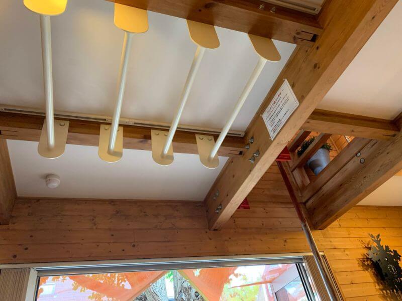 BESSの家の雲梯