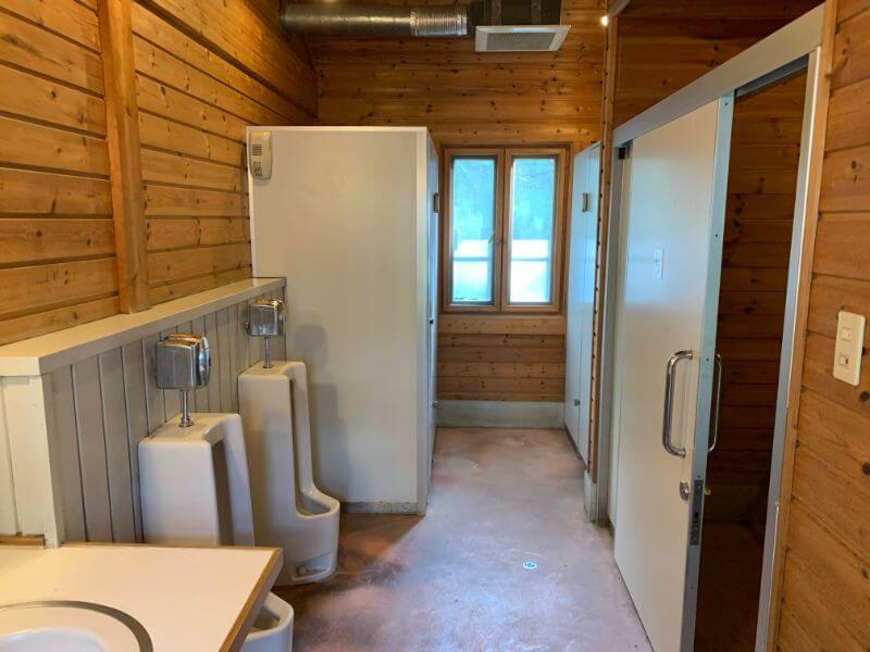 PICA富士西湖のトイレ
