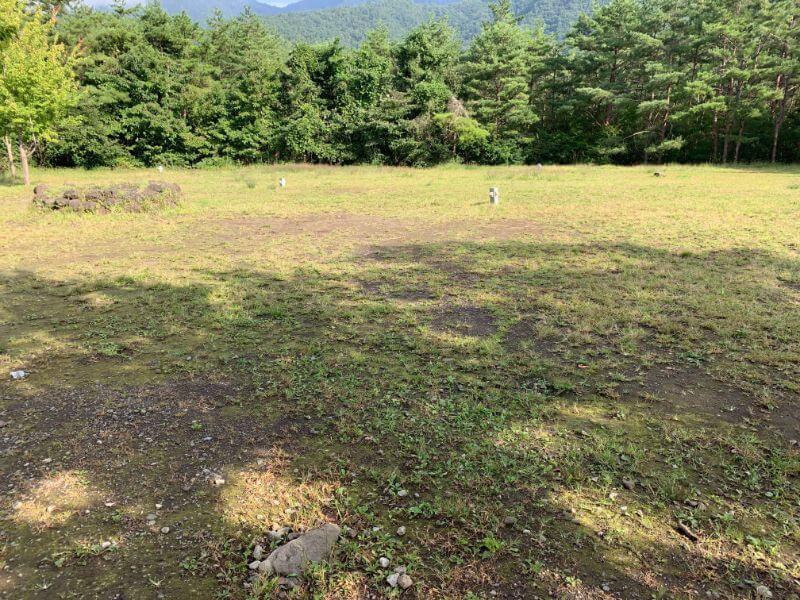 PICA富士西湖のテントサイト